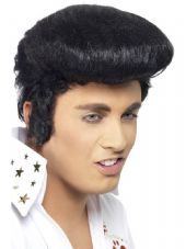 Elvis Deluxe Wig In Black